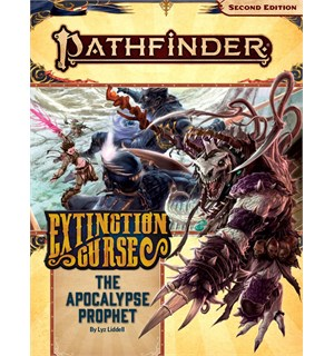 Pathfinder 2nd Ed Extinction Curse Vol 6 Apocalypse Prophet - Adventure Path