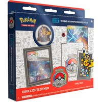 Pokemon 2019 WC Deck Kaya Lichtleitner World Championship 2019