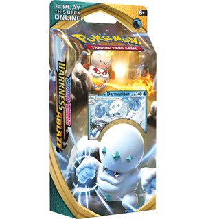 Pokemon Darkness Ablaze Theme Darmanitan Sword & Shield 3 Theme Deck
