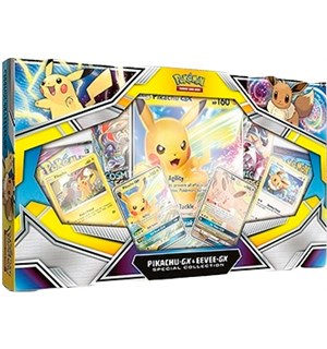 Pokemon Pikachu/Eevee GX Specail Collect Special Collection