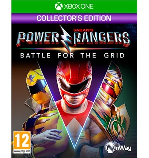Power Rangers Battle for the Grid Xbox Collector's Edition