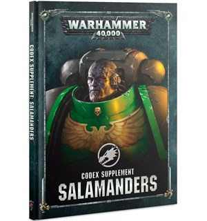 Salamanders Codex Supplement Warhammer 40K