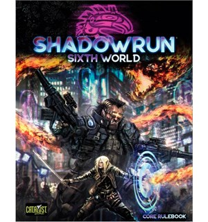 Shadowrun 6th Edition Core Rulebook Sixth World Regelbok