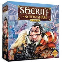 Sheriff of Nottingham 2nd Ed Brettspill Second Edition