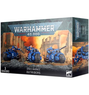 Space Marines Outriders Warhammer 40K