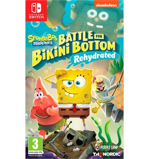 Spongebob Battle Bikini Bottom Switch Battle for Bikini Bottom Dehydrated
