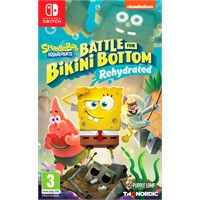 Spongebob Battle Bikini Bottom Switch Battle for Bikini Bottom Rehydrated