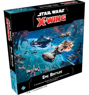Star Wars X-Wing Epic Battles Expansion Utvidelse til Star Wars X-Wing 2nd Ed