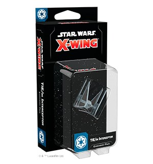 Star Wars X-Wing TIE/in Interceptor Exp Utvidelse til Star Wars X-Wing 2nd Ed