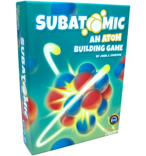 Subatomic Second Edition Brettspill An Atom Building Game