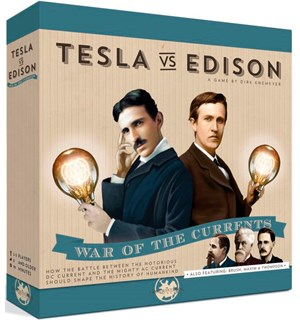 Tesla vs Edison Brettspill War of the Currents