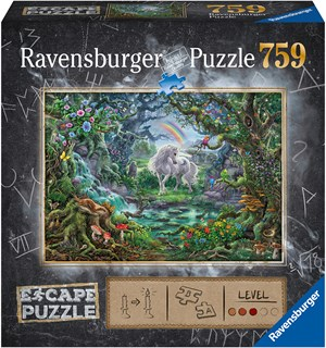 Unicorn 759 biter Puslespill Ravensburger Escape Room Puzzle
