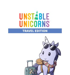 Unstable Unicorns Travel Ed Kortspill Travel Edition