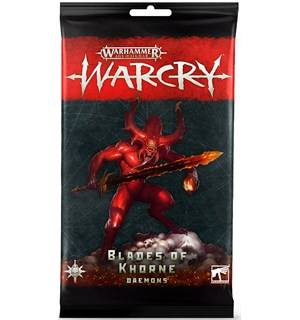 Warcry Cards Blades of Khorne Daemons Warhammer Age of Sigmar