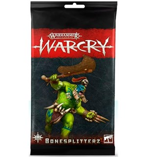Warcry Cards Bonesplitters Warhammer Age of Sigmar