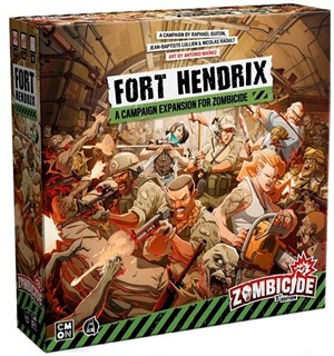 Zombicide 2nd Edition Fort Hendrix Exp Campaign Expansion for 2nd Edition