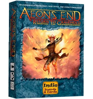 Aeons End Return To Gravehold Exp Utvidelse til Aeons End