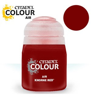 Airbrush Paint Khorne Red 24ml Maling til Airbrush