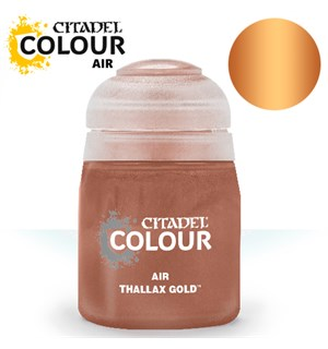 Airbrush Paint Thallax Gold 24ml Maling til Airbrush