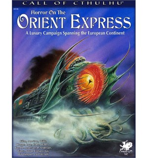 Call of Cthulhu Horror on Orient Express Call of Cthulhu RPG Luxury Scenario