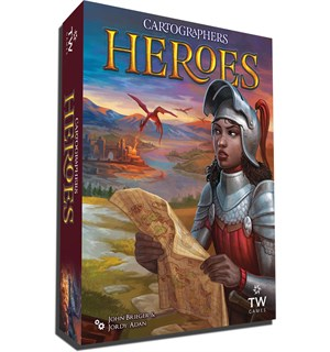 Cartographers Heroes Brettspill