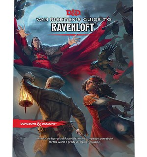 D&D Suppl. Van Richtens Guide Ravenloft Dungeons & Dragons Supplement