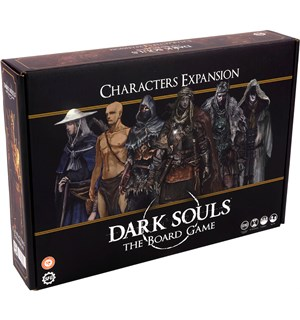 Dark Souls Board Game Characters Exp Utvidelse til Dark Souls The Board Game
