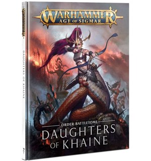 Daughters of Khaine Battletome Warhammer Age of Sigmar