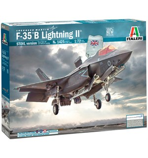 F-35 B Lightning II STOVL Version Italeri 1:72 Byggesett