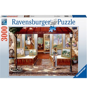 Gallery Fine Arts 3000 biter Puslespill Ravensburger Puzzle