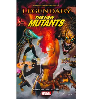 Legendary Marvel New Mutants Exp Utvidelse til Marvel Legendary