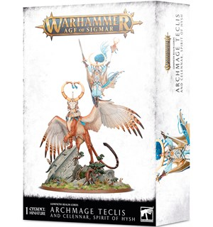 Lumineth Realm Lords Archmage Teclis Warhammer Age of Sigmar