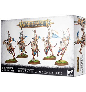 Lumineth Realm Lords Hurakan Windcharge Warhammer Age of Sigmar
