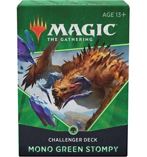 Magic Challenger Deck Mono Green Stompy Magic Challenger Deck 2021