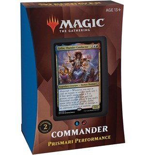 Magic Strixhaven Commander Prismari Prismari Performance - Commander Deck