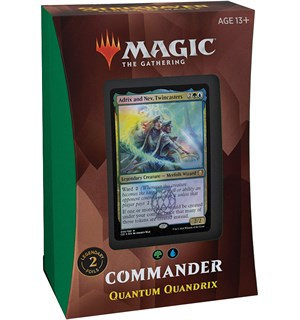 Magic Strixhaven Commander Quantum Quantum Quandrix - Commander Deck