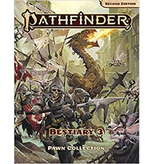 Pathfinder 2nd Ed Bestiary 3 Pawn Box Second Edition RPG - 300+ Standees