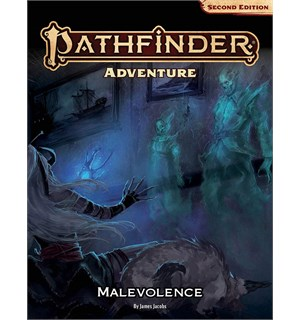 Pathfinder 2nd Ed Malevolence Second Edition RPG - Adventure