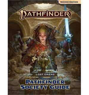 Pathfinder 2nd Ed Society Guide Second Edition RPG - Lost Omens