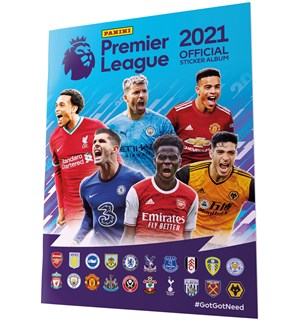 Premier League 2021 Stickers Album Panini Fotballklistremerker