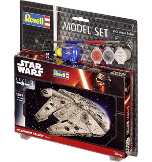 Star Wars Millennium Falcon Starter Set Revell 1:241 Byggesett
