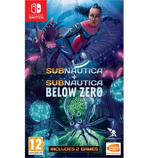 Subnautica Collection Switch Subnautica + Subnautica Below Zero