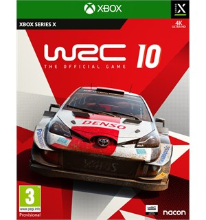 WRC 10 Xbox The Official Game