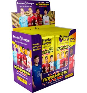 AdrenalynXL Premier League 20/21 Display Panini Fotballkort - 50 boosterpakker