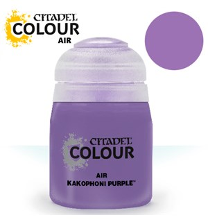 Airbrush Paint Kakophoni Purple 24ml Maling til Airbrush