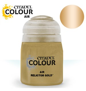 Airbrush Paint Relictor Gold 24ml Maling til Airbrush