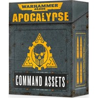 Apocalypse Cards Command Assets Warhammer 40K