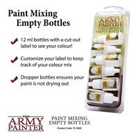 Army Painter Paint Mixing Empty Bottles 12ml flasker - 6 stk