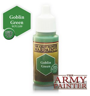Army Painter Warpaint Goblin Green Også kjent som D&D Treant Green