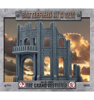 Battlefield in a Box The Grand Vestibule Painted Tabletop Terrain - 25-35mm